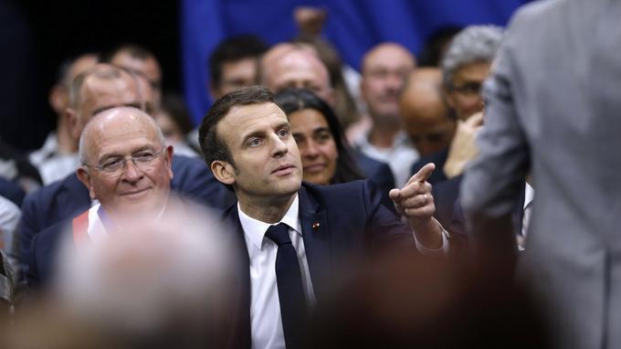 Macron salaire